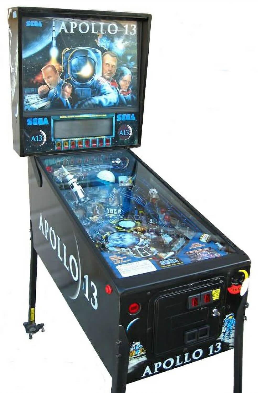 Apollo 13 Pinball Machine Liberty Games