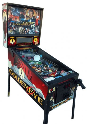 Goldeneye Pinball Machine