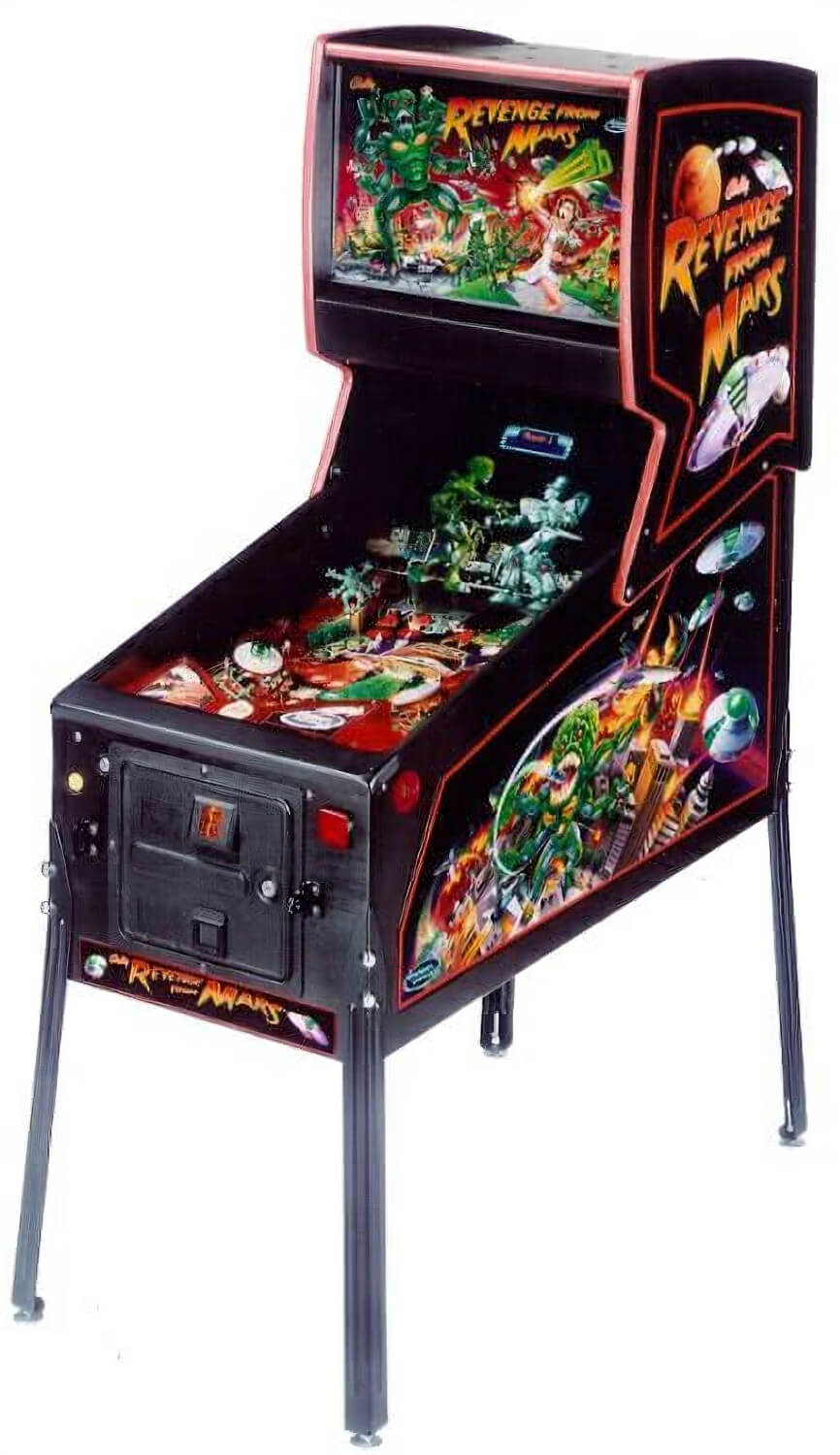 Neon Signs For Sale >> Revenge From Mars Pinball Machine | Liberty Games