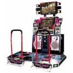 Dance Dance Revolution X Dance Arcade Machine
