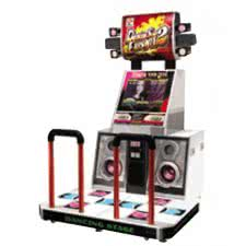 Dancing Stage Euromix 2 Dance Arcade Machine