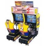 Sega Daytona USA 2 - Battle on the Edge Twin Arcade Machine