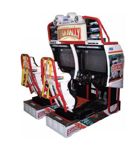 Sega Rally 2 Arcade Machine - Twin   Liberty Games