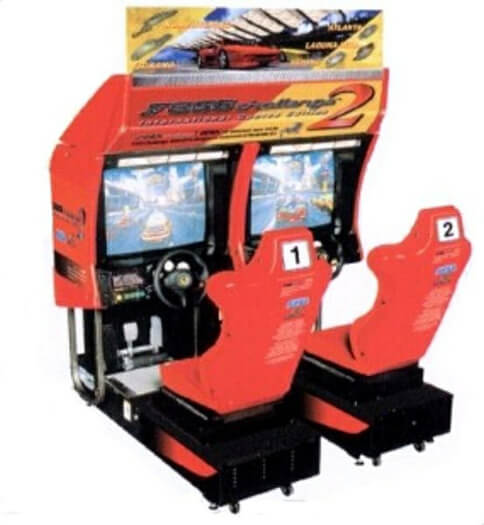 Sega F355 Challenge 2 Twin Arcade Machine