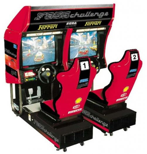 Sega F355 Challenge Twin Arcade Machine