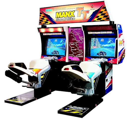 Sega Manx TT Super Bike Twin Arcade Machine