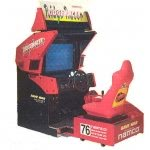 Ridge Racer Deluxe Arcade Machine