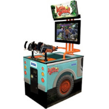 Sega Let's Go Jungle! Arcade Machine