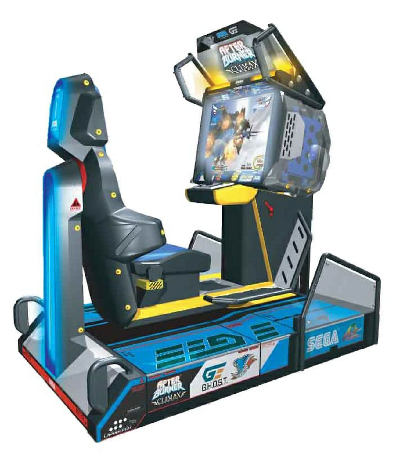 Hockey Tables For Sale Sega After Burner Climax Deluxe Arcade Machine | Liberty Games
