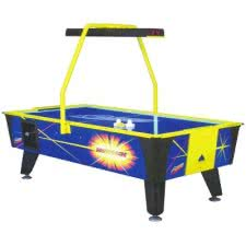 Reconditioned Dynamo Hot Flash 8ft Commercial Air Hockey Table