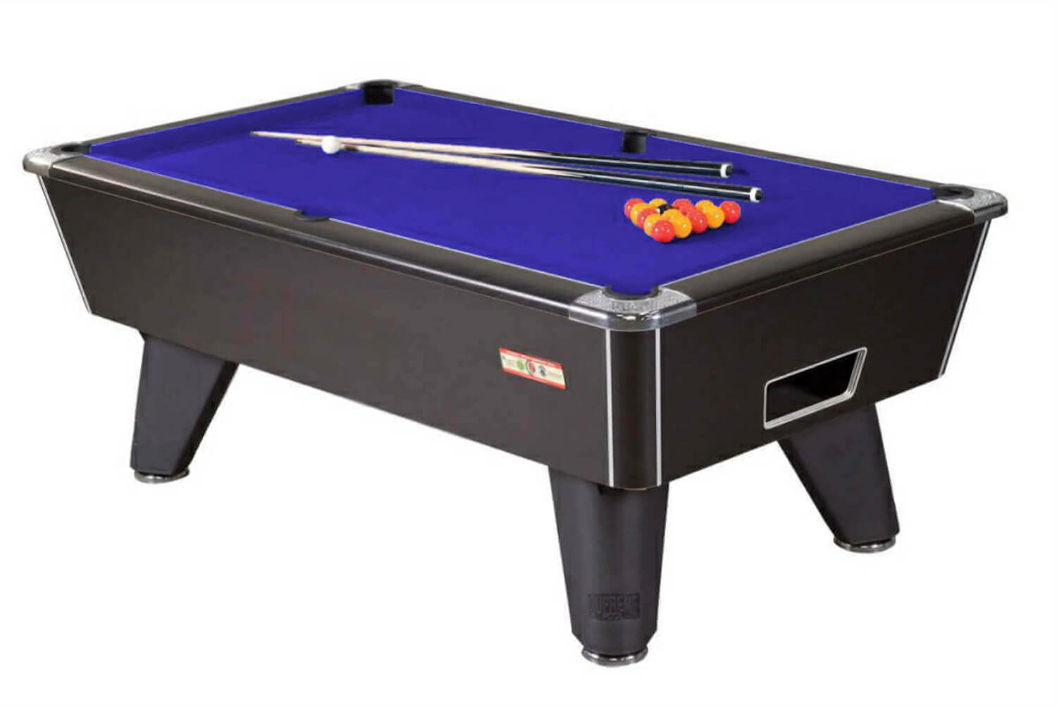 Genial Supreme Winner Slate Bed Pool Table
