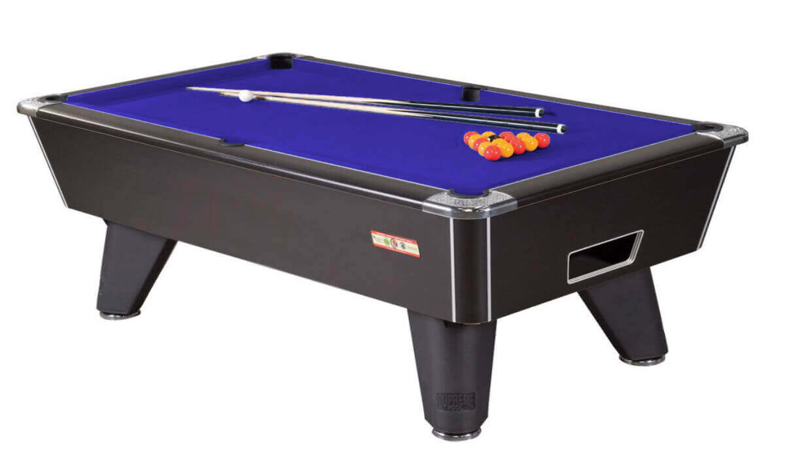 Supreme winner pool table 6 ft 7 ft 8 ft liberty games for Pool table 6 x 3