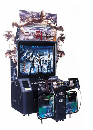 Sega House of the Dead III Deluxe Arcade Machine