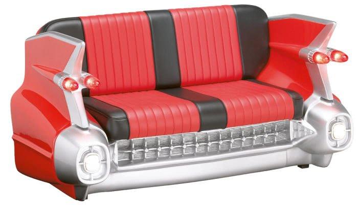 Red Cadillac Sofa Liberty Games