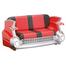 Red Cadillac Sofa