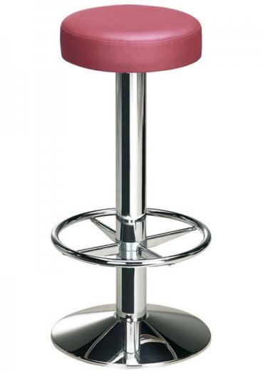 Pisa Chrome Bar Stool