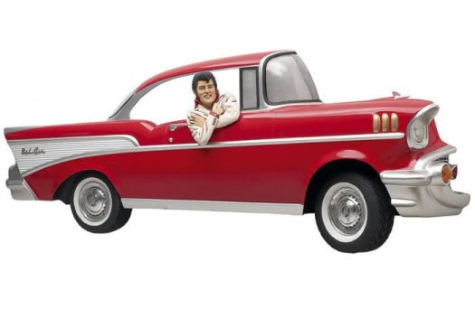 Chevrolet Wall Mount with Elvis