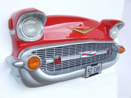 Chevrolet Front Wall Plaque