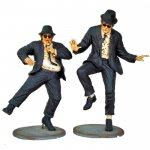 Dancing Jake & Elwood Figures