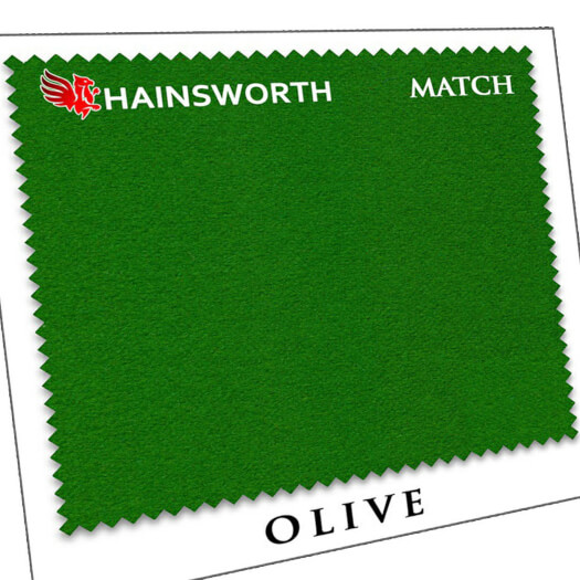 Hainsworth Match Pool & Snooker Table Cloth