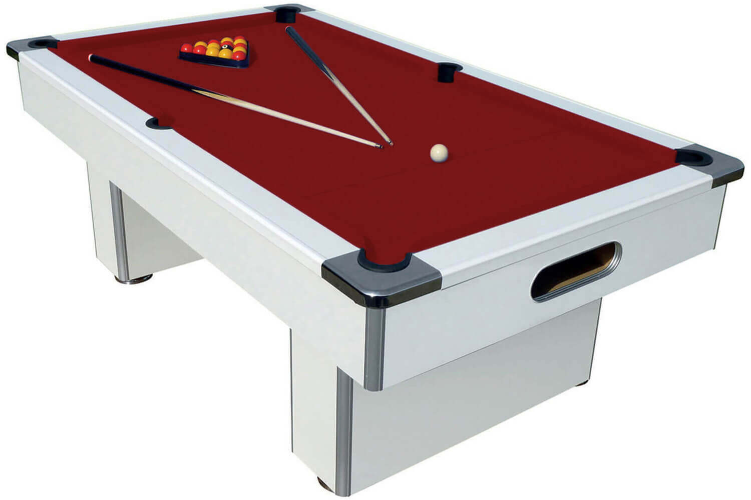 Slimline pool table 6 ft 7 ft liberty games for Table 6 feet