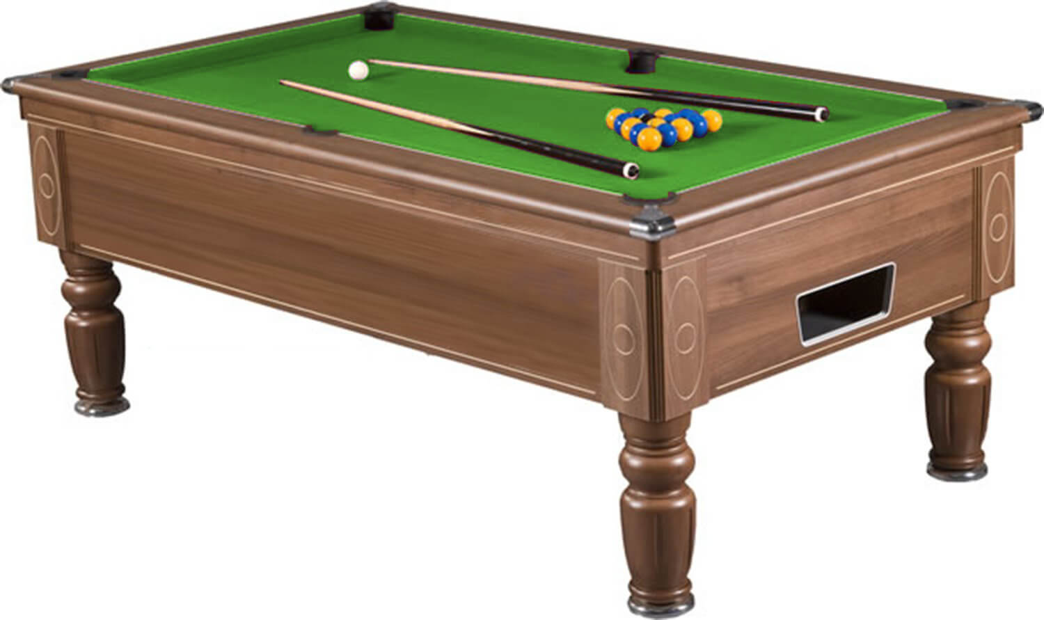 Supreme prince pool table 6 ft 7 ft 8 ft liberty games for Table 6 feet