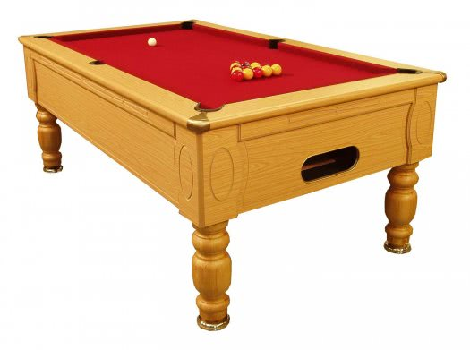 Optima Slate Bed Pool Table