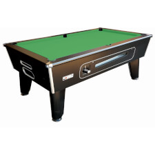 Classic Coin Operated Slate Bed Pool Table