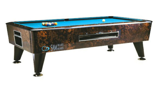 Yowa Slate Bed American Pool Table