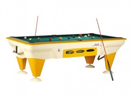 Tempo Garden 7 foot Outdoor American Slate Bed Pool Table