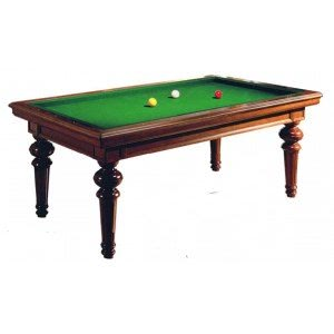Longoni Versailles 8 foot American Slate Bed Pool Table