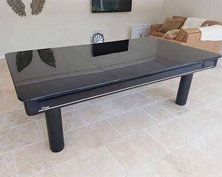 Longoni Elegant 8 foot American Slate Bed Pool Table