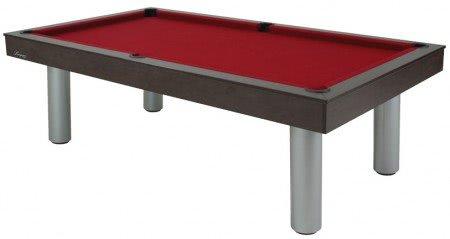 Longoni Red Devil Wenge American Slate Bed Pool Table