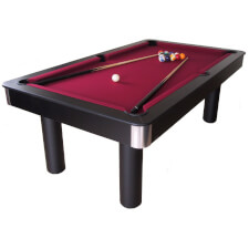 Longoni Red Devil American Slate Bed Pool Table