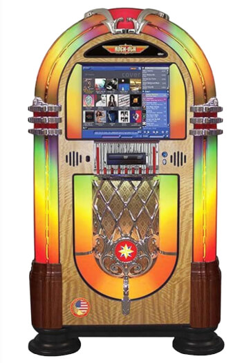 Rock-Ola Bubbler Music Centre Digital Jukebox