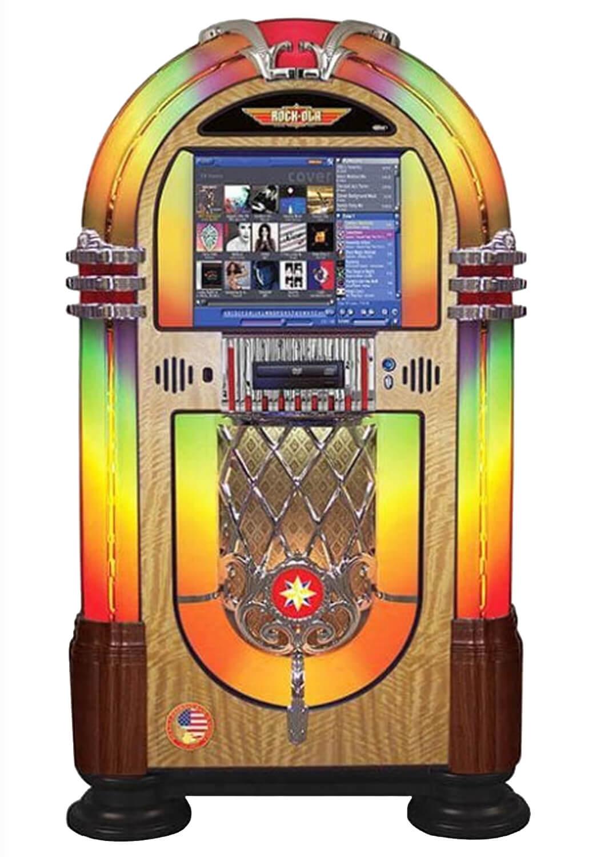 Rock Ola Bubbler Music Centre Digital Jukebox Liberty Games