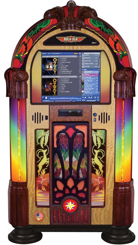 Rock Ola Gazelle Music Centre Digital Jukebox Liberty Games