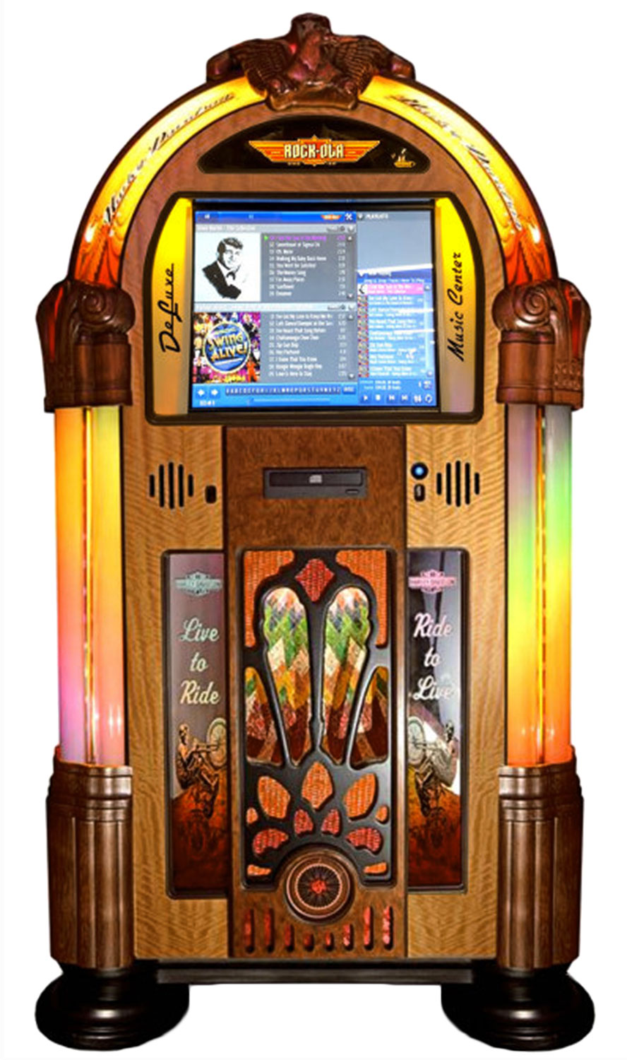 Rock Ola Harley Davidson Jukebox Digital Music Centre