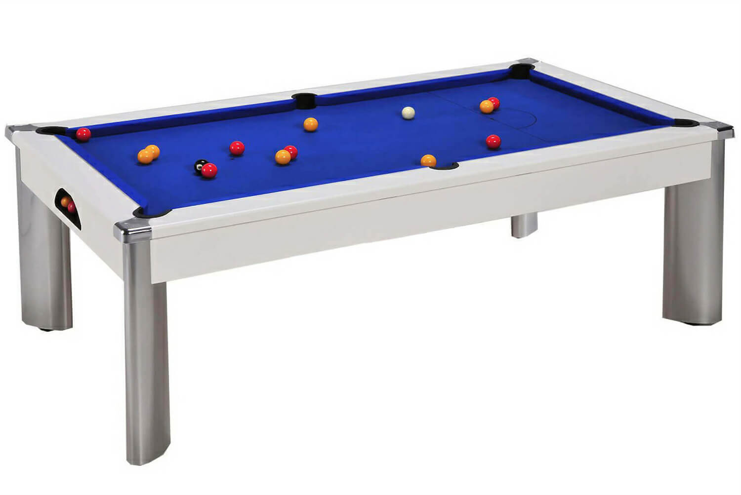 Fusion outdoor pool dining table 7 ft liberty games Pool dining table