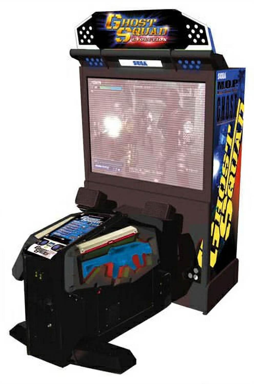 Sega Ghost Squad Evolution Deluxe Arcade Machine Liberty