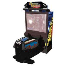 Sega Ghost Squad Evolution Deluxe Arcade Machine