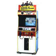 Sega Virtua Cop 2 Arcade Machine