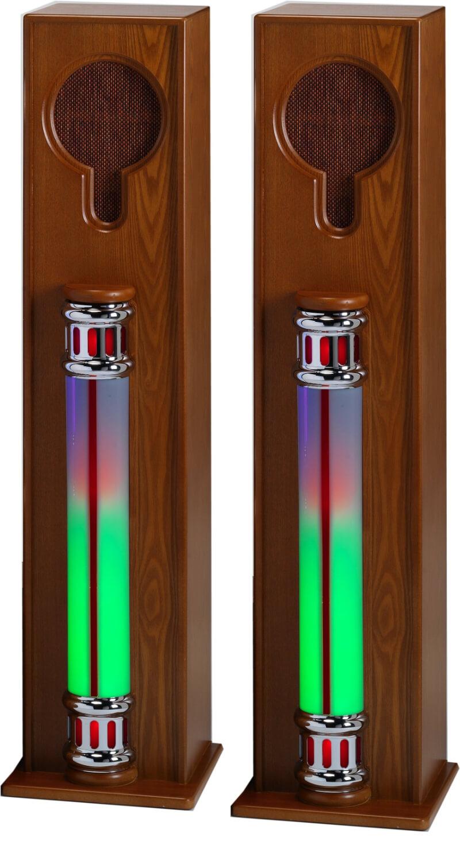 Steepletone Jukebox Extension Speaker Set (LED ADD SPK)