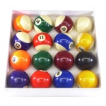 Strikeworth Competition 2'' (50.8mm) Spots & Stripes Pool Ball Set