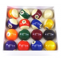 "2"" Spots & Stripes Pool Ball Set by Strikeworth"