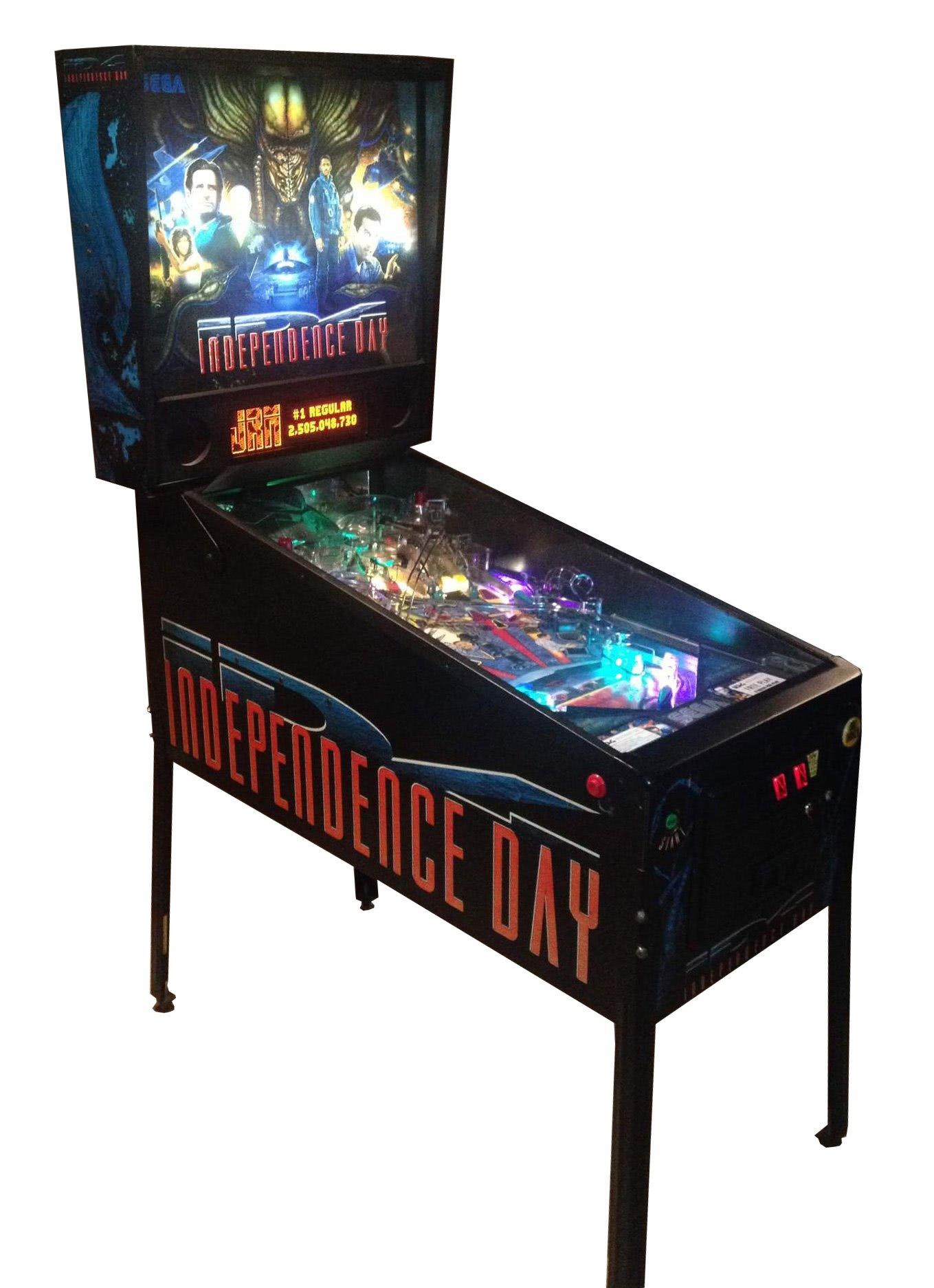 ID4 Independence Day Pinball Machine