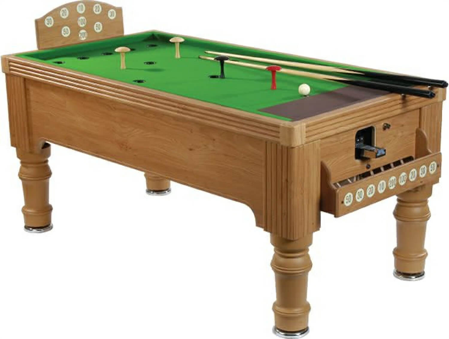 Supreme bar billiards table 6 foot liberty games for Table 6 foot