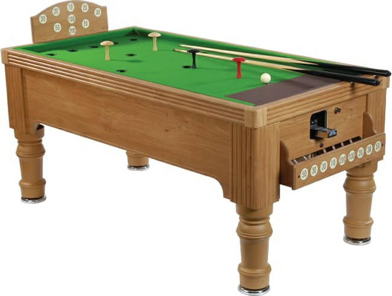 Supreme bar billiards table 6 foot liberty games for Supreme 99 table game