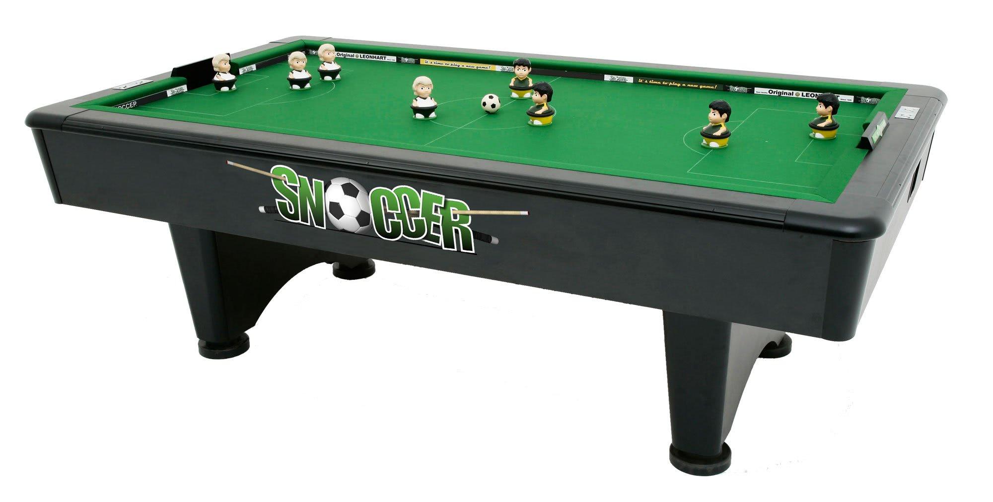 Snoccer Snooker & Soccer bination Game Table