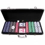 500 Piece Dice Design Poker Chipset (DICE500)